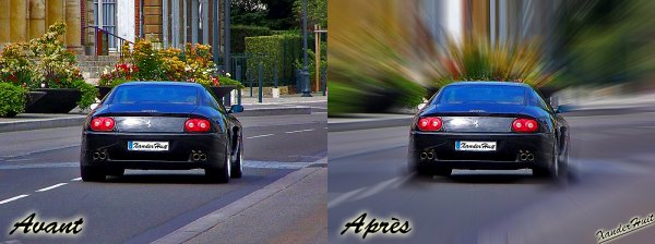 Tutoriel Donner Un Effet Focus (Ou De Vitesse) A Une Photo Avec Photoshop CS6 Exended 