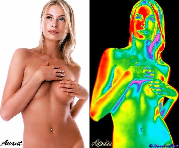 Tutoriel  Effet Image Thermique Avec Photoshop CS6 Extended 