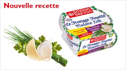 Test Fromages Fouettés Madame Loïk