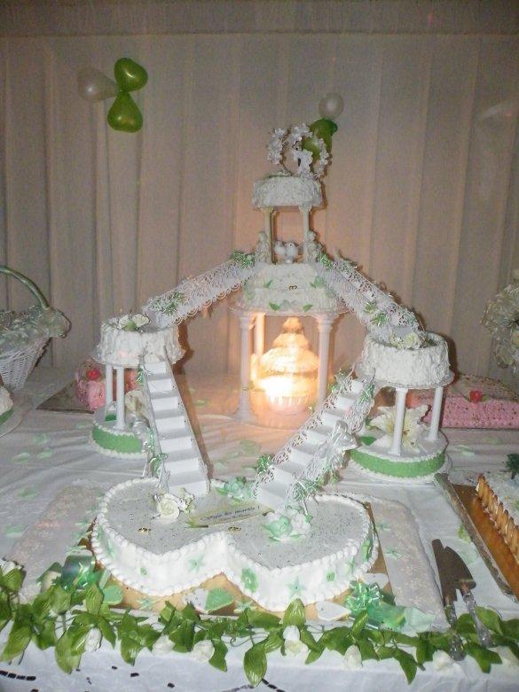 mariage - Gateau Mariage Antillais