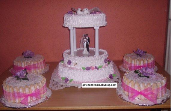gateaux mariage disposer avec la fontaine eau - Fontaine Gateau Mariage