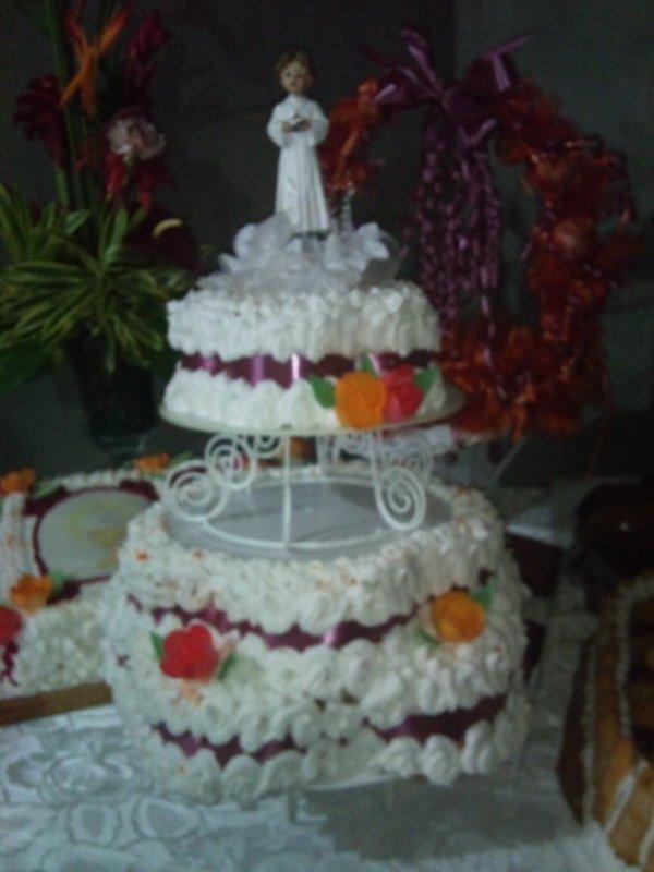 Recette gateau communion creole