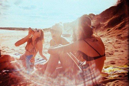 Life's a beach .