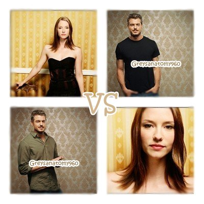 un VS entre Mark & Lexie
