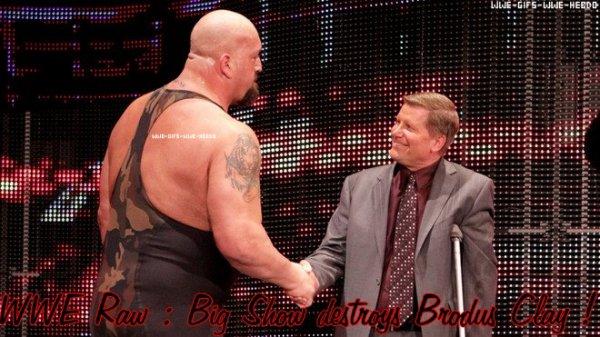 Résultat WWE Raw 28/05/12