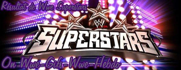 Résultat WWE Superstars 31/05/12