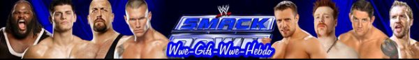 Résultat WWE SmackDow 03/08/12