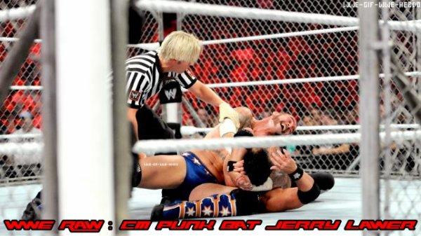 Résultat WWE Raw 27/08/12