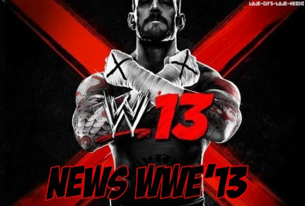 Nouvelle Article : News WWE'13