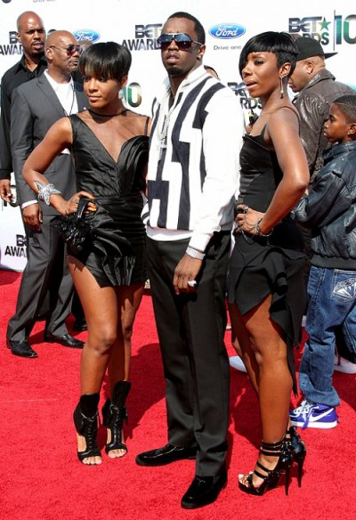 Kaleena,P.Diddy and Dawn