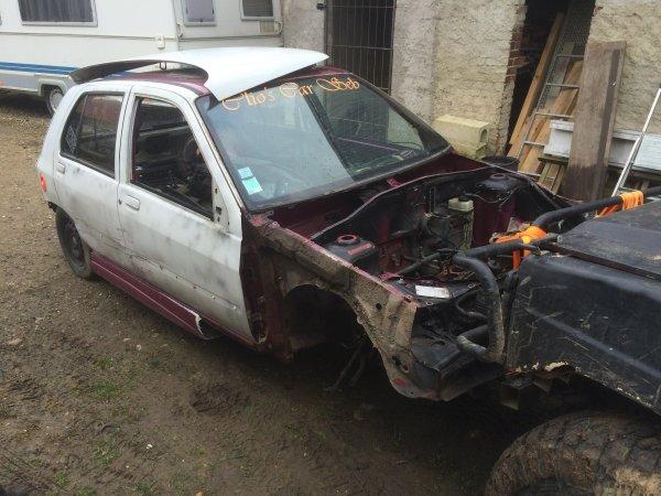 Les deux Clio's Car