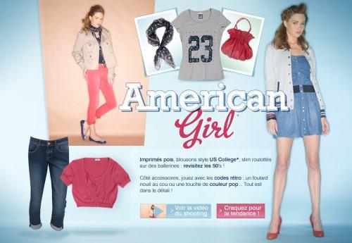 Nouvelle Collection chez Pimkie pour la fin des soldes ( Americain Girl ) !