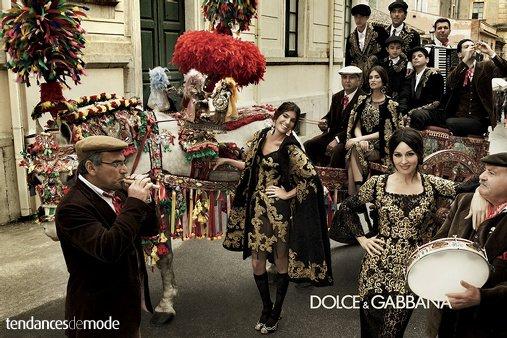Dolce & Gabbana - Automne/hiver 2012-2013