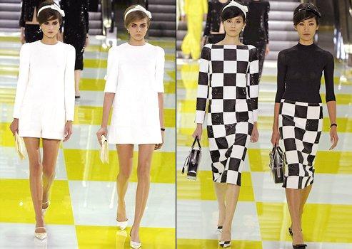 Défilé Louis Vuitton - Printemps/été 2013