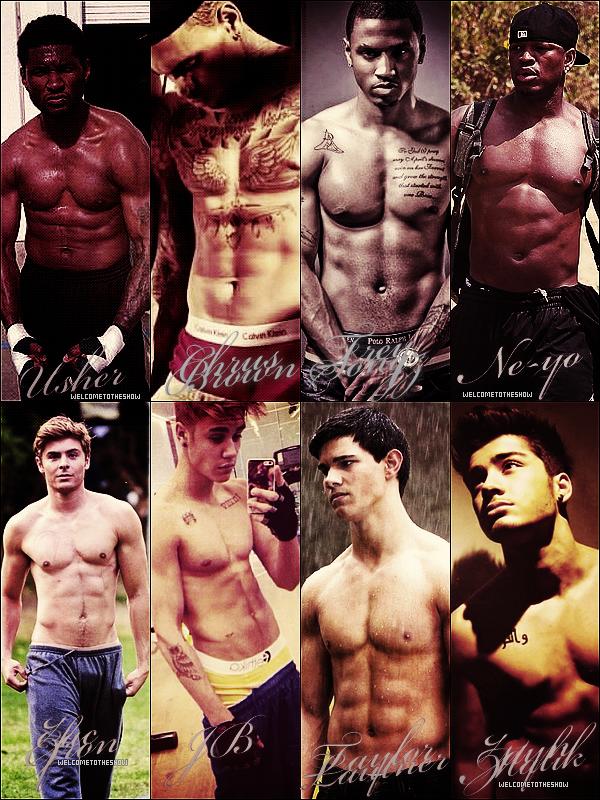 Qui est pour toi la star masculine le plus sexy ?