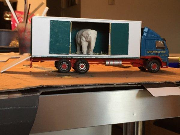 Porteur éléphant