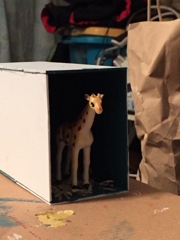 Remorque girafe