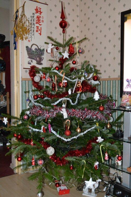 Notre sapin de Noël
