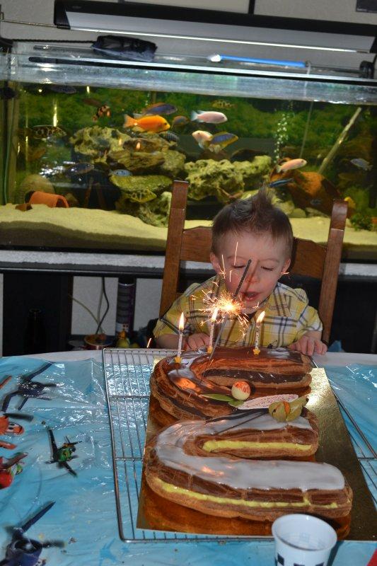 anniversaire Jordan 3 ans