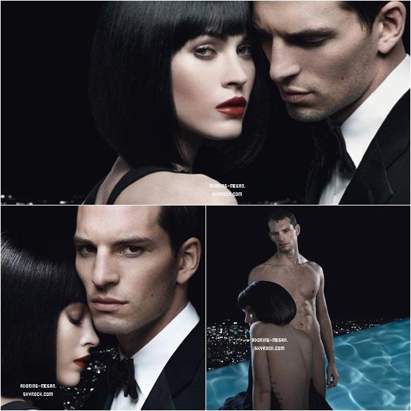 Megan a fait un nouveau photoshoot pour Giorgio Armani Code Woman    Les Photos sont très sexy !