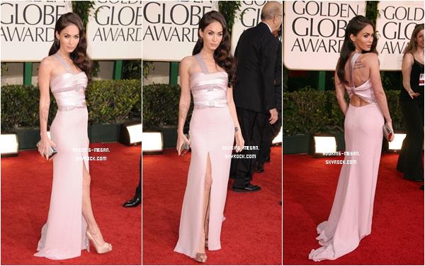 Le 16 Janvier 2011 Miss Fox s'est rendue a la cérémonie des Golden Globe Awards en compagnie de son mari. Elle ne s'y est pas rendue pour y recevoir un prix mais pour en remettre un. Niveau tenue j'adore sa robe mais je déteste sa tête