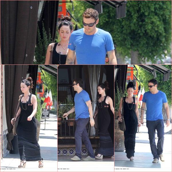 Megan sans Brian ? Quoi ? Noon, jamais ! Le couple a encore été vu se balladant cette fois à Santa Monica et Hollywood. Ils ont l'air de bien s'amuser. Je dois dire que je suis totalement fan de sa première tenue ♥
