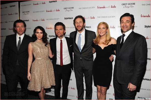 5 Mars 2012 Première de Friends With Kids à New York