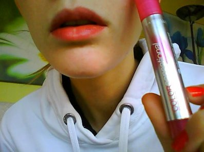 Lips stick love pink