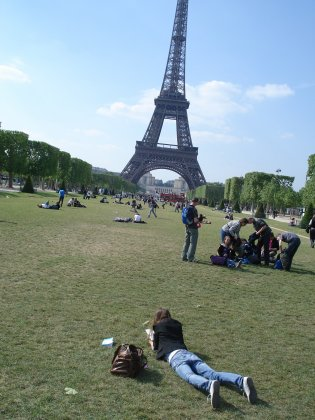 Paris from love