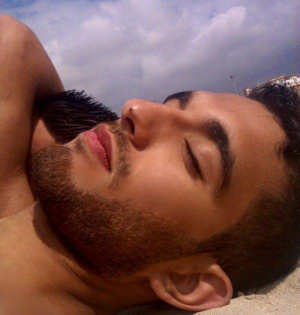 Get some sleep on the beach