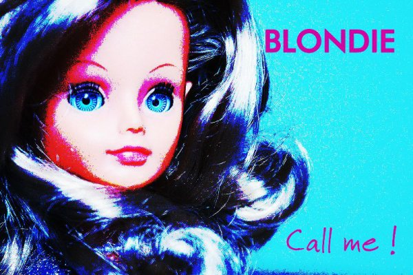 Ooooh Blondie...Call me !!!