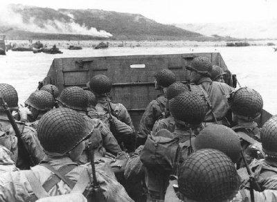 Débarquement des soldats américains à Omaha Beach, le 6 juin 1944