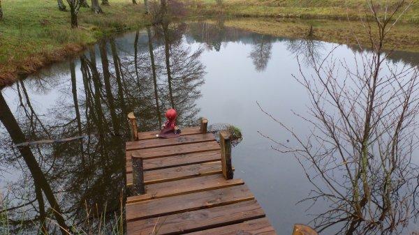 Au bord du lac!