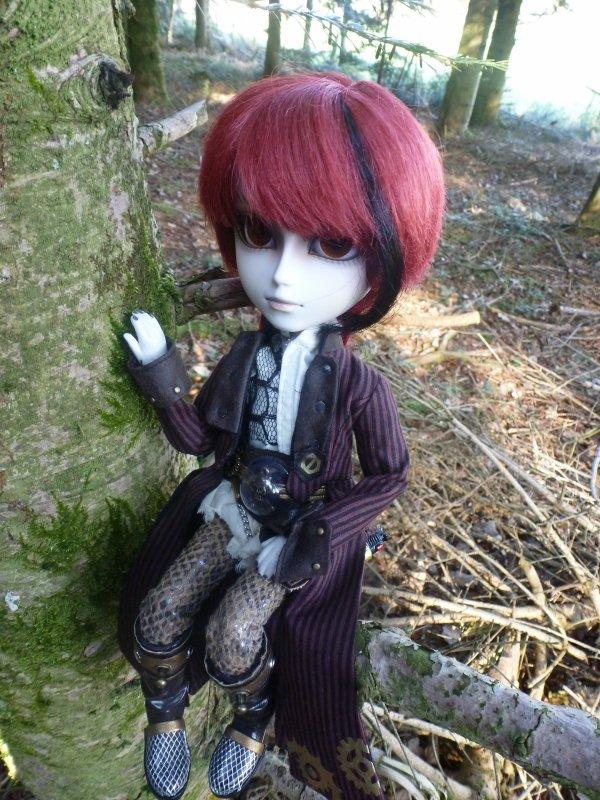 Dans les bois (avec Mitsuki)