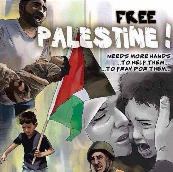 #PalestineTomorrowillbeFree