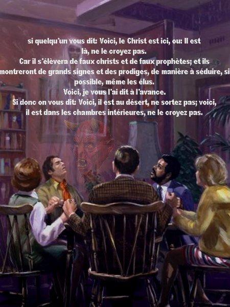 Le spiritisme,un danger de l'occultisme voyante,spiritisme,magie noir,magie blanc ect...