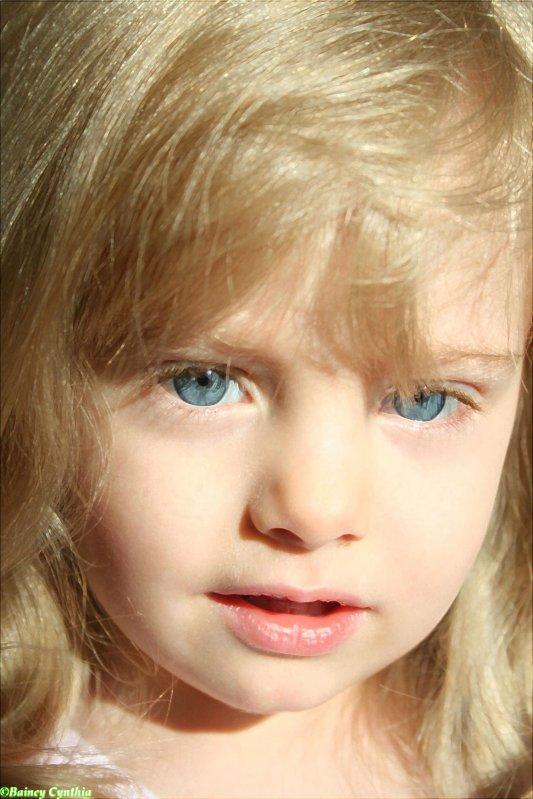 Ma fille Tahisse!!! Mon ptit soleil!!!