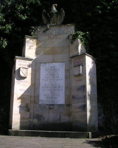 Monuments aux morts allemands