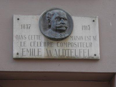 Emile Waldteufel (09/09/1837 à Strasbourg - 12/02/1915 à Paris)