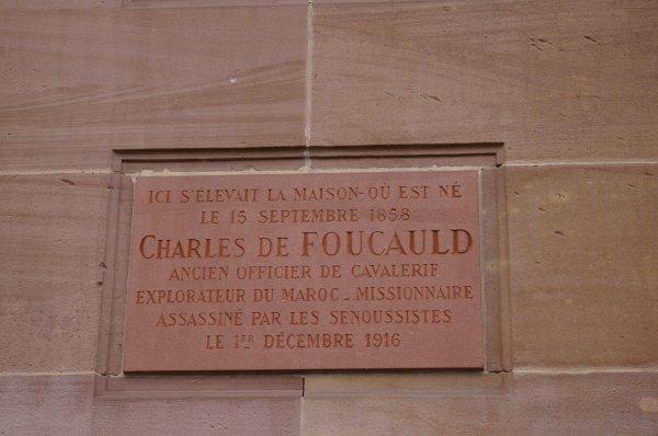 Charles de Foucault (15/09/1858-01/12/1916)