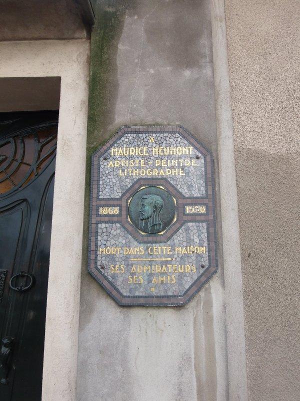 Plaques commémoratives de Paris