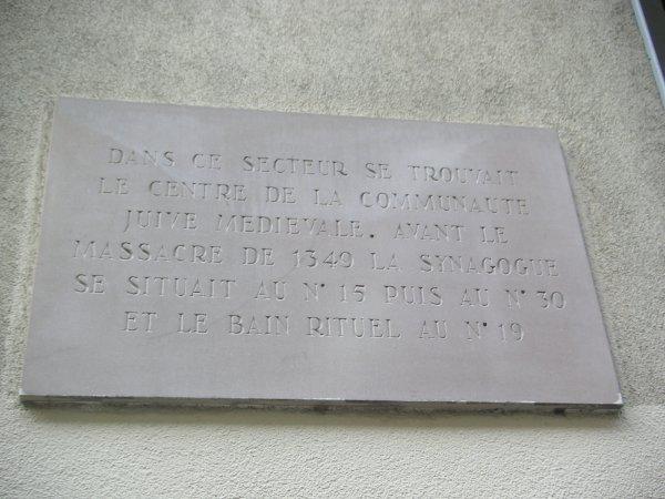 La communauté juive alsacienne