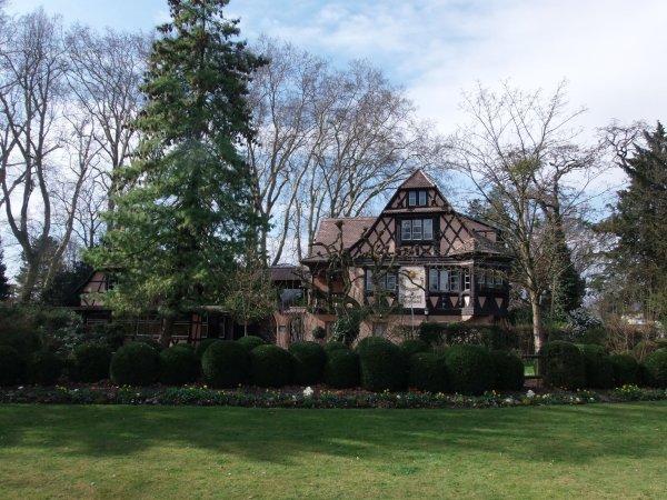 Le parc de l'Orangerie à Strasbourg