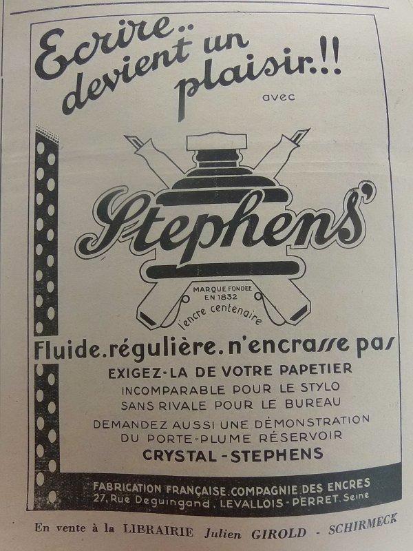 Publicités et annonces durant la seconde guerre mondiale