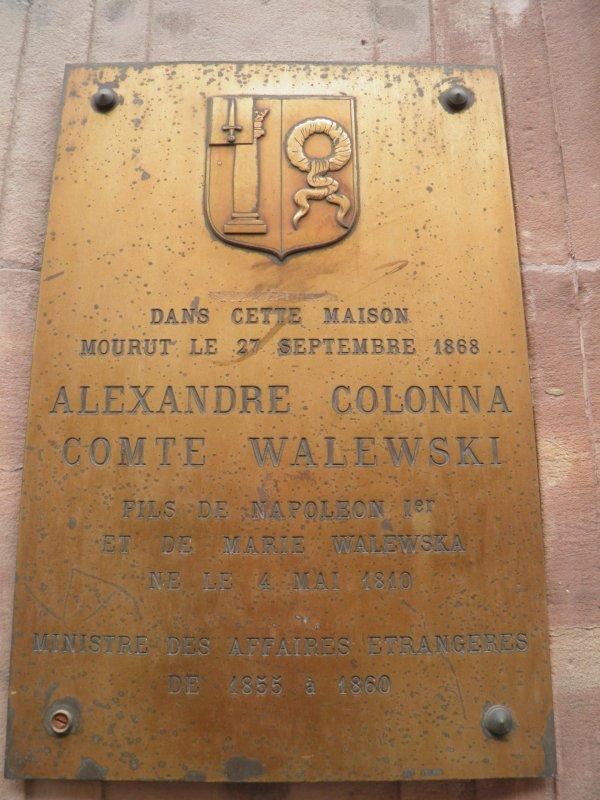 Florian Alexandre Colonna Walewski (4/05/1810 - 27/09/1868)