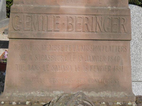 GUSTAVE EMILE BERINGER (1840-1881)