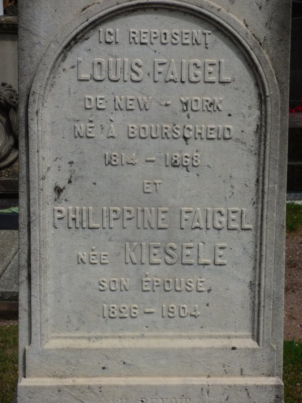 Un New-Yorkais enterré en terre alsacienne