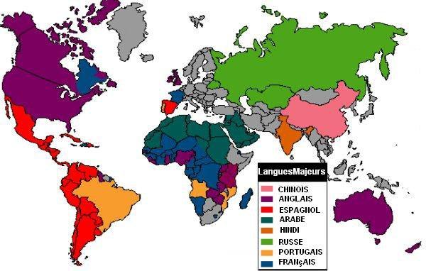 Les 10 langues les plus parl es dans le monde le monde - Quel est le nom le plus porte au monde ...