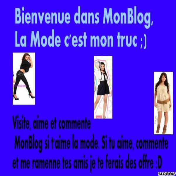 MonBlog<3   :   LovesFringues<3  :D