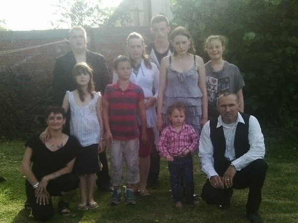 ma famille au complet